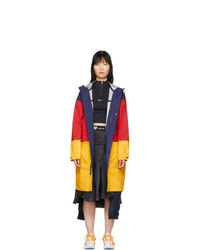 Nike Navy And Red Nrg 3 Layer Parka
