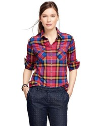 Brooks Brothers Flannel Tartan Shirt