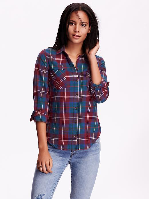 08a9743d Old Navy Classic Plaid Flannel Shirt, $26 | Old Navy | Lookastic.com