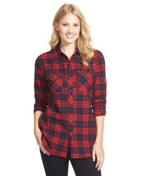 Sandra Plaid Flannel Shirt