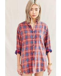 Urban Renewal Vintage Urban Renewal Well Worn Vintage Flannel Shirt