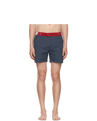 Solid and Striped Navy And Red The Kennedy Swim Shorts