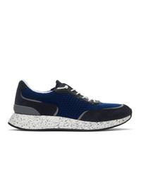 Z Zegna Blue Piuma Sneakers