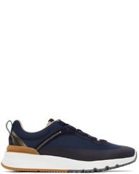 Brunello Cucinelli Navy Technical Active Sneakers