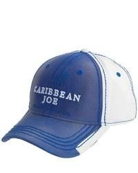 Caribbean Joe Two Tone Baseball Cap Cotton Twill Bluewhite