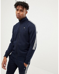 Jack & Jones Core Jersey Track Top With Arm Stripe