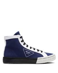 Prada High Top Wheel Sneakers