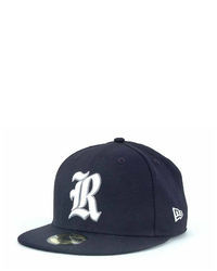 Navy and White Cap
