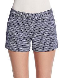 Joie Isabeau Check Print Shorts