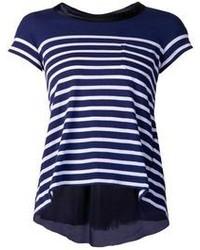 Sacai luck striped t shirt medium 92825