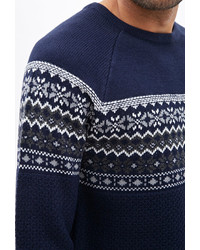 21men 21 Fair Isle Raglan Sweater | Where to buy & how to wear