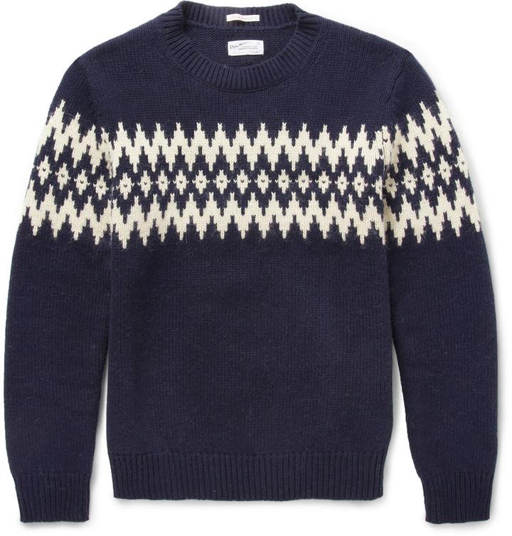 Gant Gant Rugger Fair Isle-Jacquard Wool-Blend Sweater | Where to ...