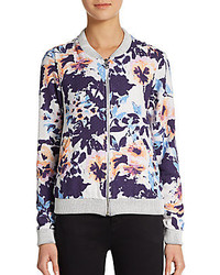 Townsen floral printed bomber jacket medium 129024