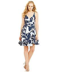 Keepsake No Secrets Floral Fit And Flare Dress