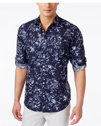 INC International Concepts Breakline Long Sleeve Shirt Only At Macys