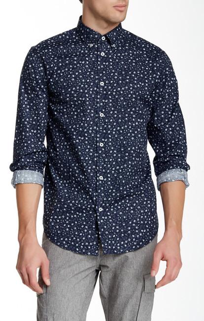 30efaffaf47d75 Ben Sherman Floral Print Long Sleeve Easy Fit Shirt, $89   Nordstrom ...