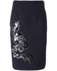 Christopher Kane Floral Applique Skirt