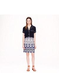 J.Crew Trellis Floral Skirt