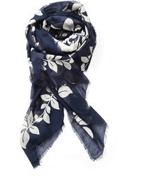 Marc Jacobs Printed Cotton And Silk Scarf