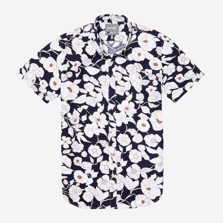 e639de38 Bonobos Riviera Short Sleeve Shirt, $85 | Bonobos | Lookastic.com