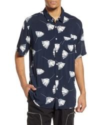 Zanerobe Duster Short Sleeve Button Up Shirt