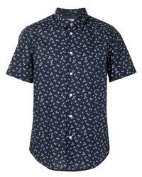 PS Paul Smith Floral Print Cotton Shirt