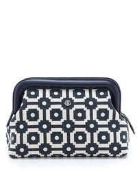 Ellen printed canvas clutch medium 33456