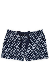 Nautica Patterned Sleep Shorts