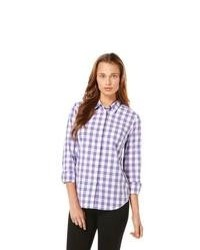 Original penguin long sleeve gingham woven shirt medium 95629