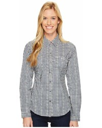 Super harborside woven long sleeve shirt medium 6991434