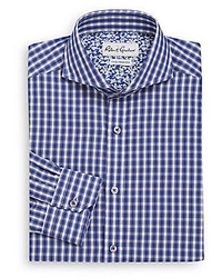 Robert Graham Tailored Fit Firenze Plaid Dress Shirt