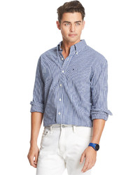 Izod Gingham Long Sleeve Shirt