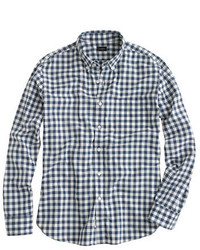 Secret wash shirt in faded gingham medium 389076
