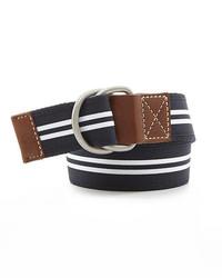 Cremieux Casual Stripe Belt