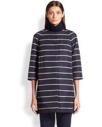 Max Mara Girante Striped Coat