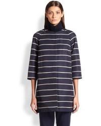Max Mara Girante Striped Coat