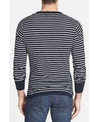 Relwen Beach Stripe Crewneck Cotton Jersey Sweater | Where to buy ...