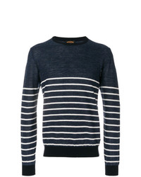 Tod's Crew Neck Striped Jumper