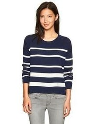 Gap Pointelle Stripe Sweater