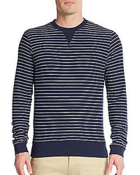 Saks Fifth Avenue Striped Cotton Sweater