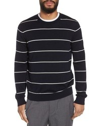 Vince Slim Fit Stripe Crewneck Sweater
