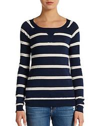 Splendid Striped Pullover Sweater