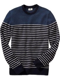 Old Navy Striped Wool Blend Sweaters