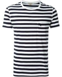 Brit striped t shirt medium 432564
