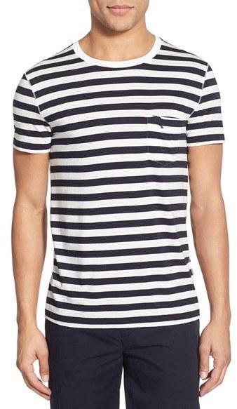 8970b3dab burberry brit t shirt Source · Burberry Brit The Britain Nautical Stripe T  Shirt 175 Nordstrom