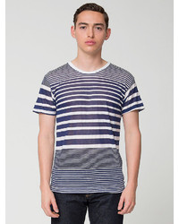 American Apparel Multi Stripe Tee