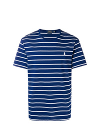 9993133d37 Men s Navy and White Crew-neck T-shirts by Polo Ralph Lauren
