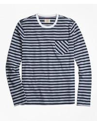 Brooks Brothers Long Sleeve Sailor Stripe T Shirt