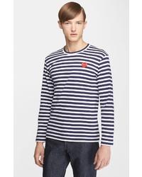 Comme des Garcons Play Stripe T Shirt