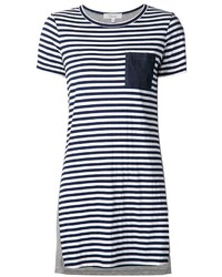 Clu striped shift dress medium 297017